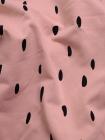 """Натуральная ткань футер """"Мазки на розовом"""""""